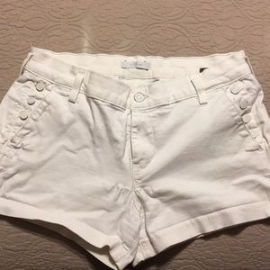 White 7 for All Mankind Shorts in Fair Condition